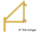 Where to rent OUTRIGGER 30 CLAMP ON SCAFFOLD in Tulsa OK