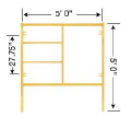 Where to rent 5 X 5  SCAFFOLD END FRAME in Tulsa OK