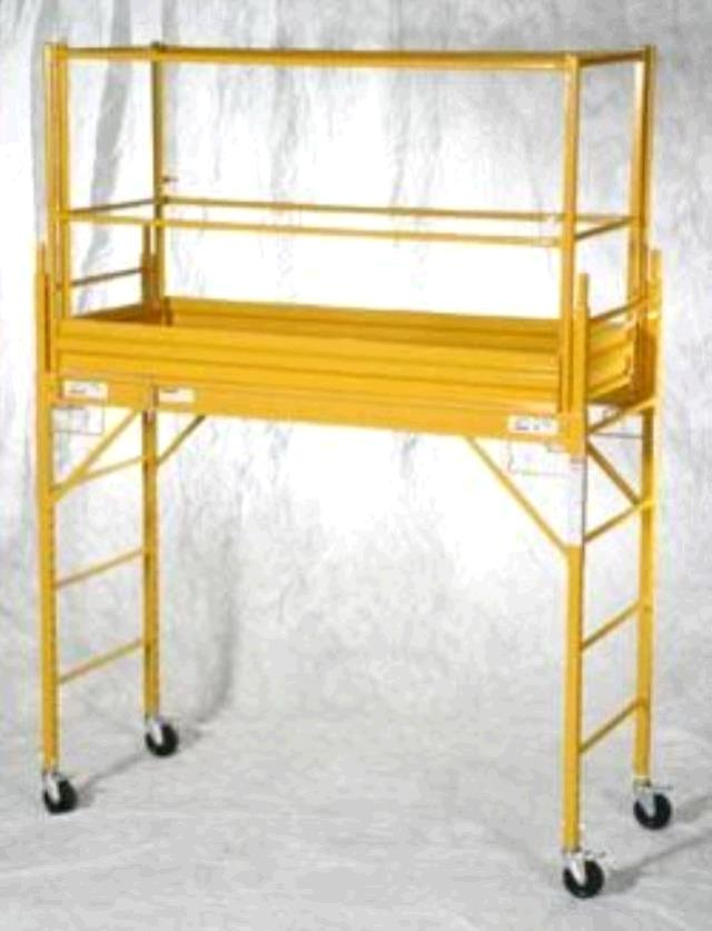 Rolling Tower Scaffold 6 Foot Set Rentals Tulsa Ok Where