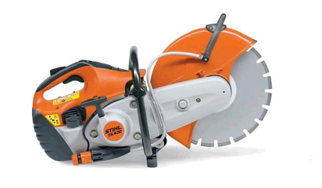 Where to find CUT OFF 14  SAWS  STIHL TS420 in Tulsa
